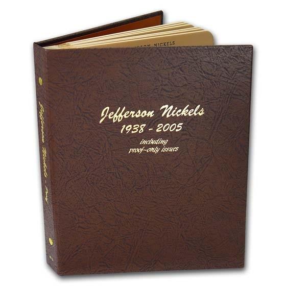 Dansco Album #8113 - Jefferson Nickels 1938-2005 (w/Proofs)