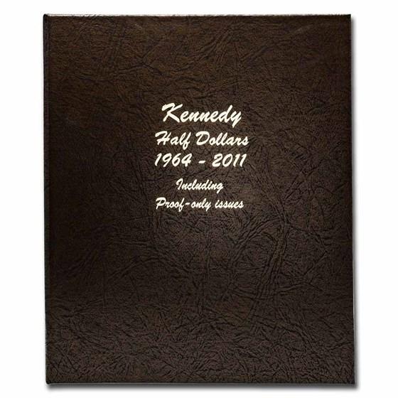 Dansco Album #8166 - Kennedy Half Dollars 1964-2011 (w/Proofs)