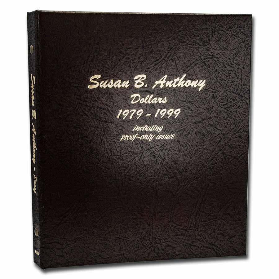 Dansco Album #8180 - Susan B. Anthony Dollars w/Proofs