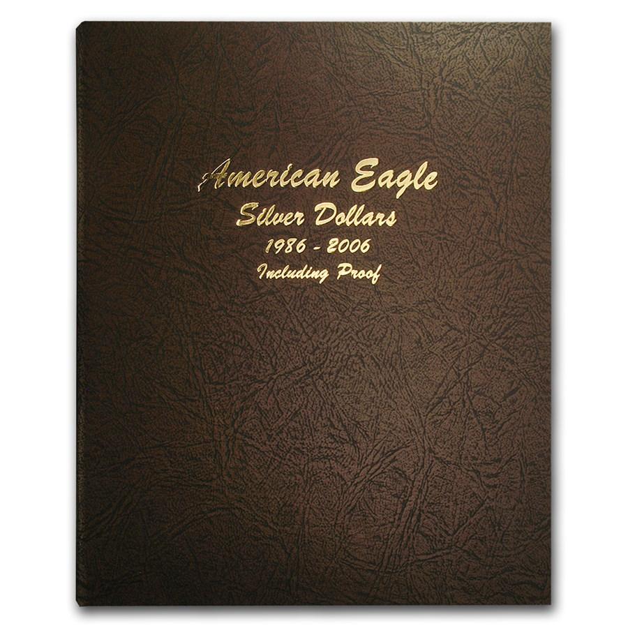 Dansco Album #8181 - Silver American Eagles 1986-2006 (w/Proofs)