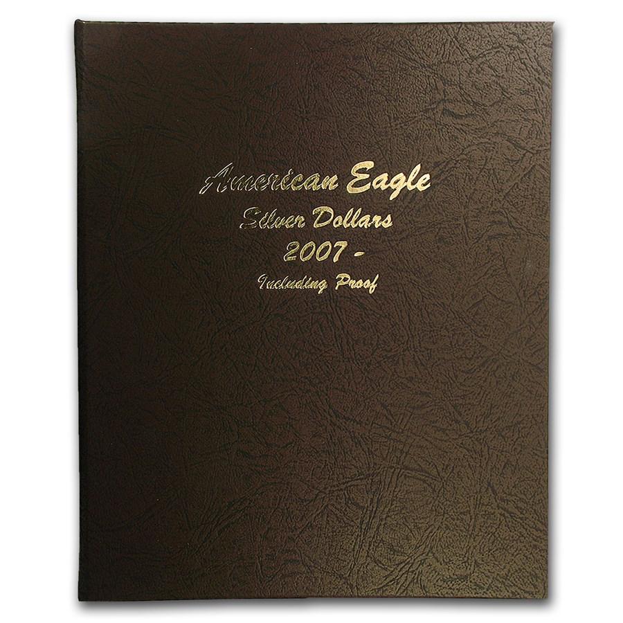 Dansco Album #8182 - Silver American Eagles 2007-Date (w/Proofs)
