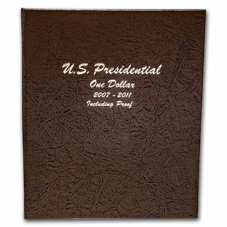 Dansco Album #8184 - Presidential Coins 2007-2011 Vol.1 w/Proofs