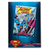 DC Action Comics #252 May 1959 - 35 Gram Silver Poster