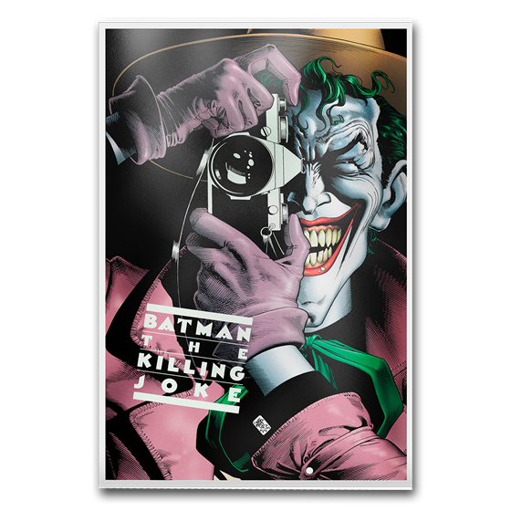 DC Comics Batman: The Killing Joke - 35 Gram Silver Poster