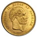 Denmark Gold 20 Kroner Christian IX BU (1873-1900)