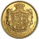 Denmark Gold 20 Kroner Christian X BU (1913-1917)