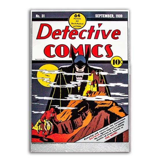 Detective Comics #31 Sept 1939 (Batman) - 35 Gram Silver Foil
