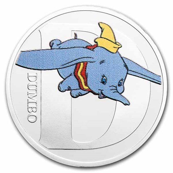 Disney A-Z Collection Alphabet Letter: D is for Dumbo