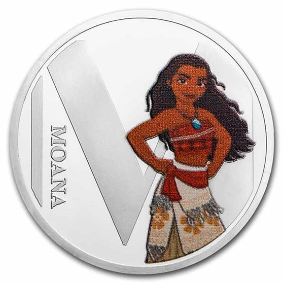 Disney A-Z Collection Alphabet Letter: M is for Moana