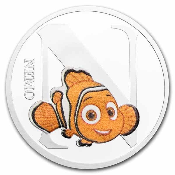 Disney A-Z Collection Alphabet Letter: N is for Nemo
