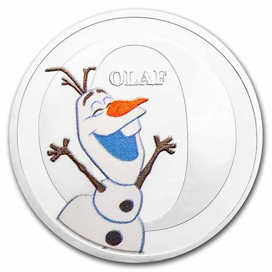 Disney A-Z Collection Alphabet Letter: O is for Olaf