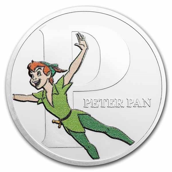 Disney A-Z Collection Alphabet Letter: P is for Peter Pan