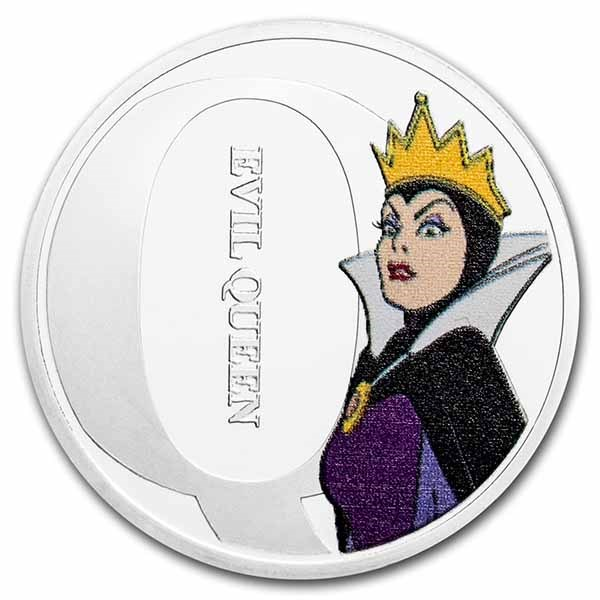 Disney A-Z Collection Alphabet Letter: Q is for the Evil Queen