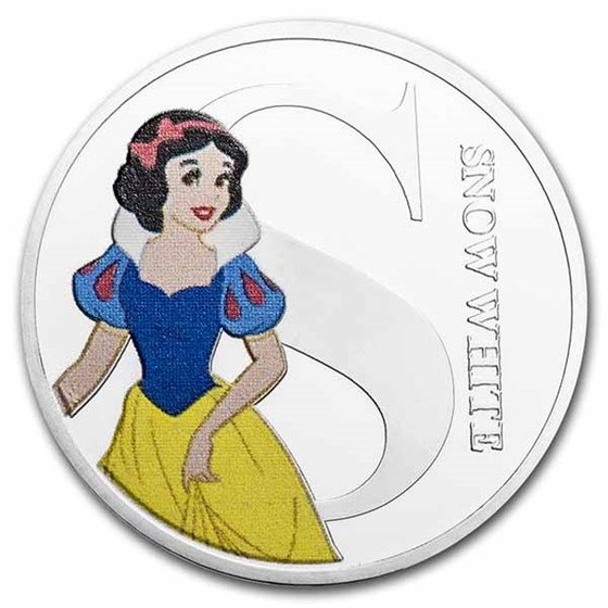 Disney A-Z Collection Alphabet Letter: S is for Snow White