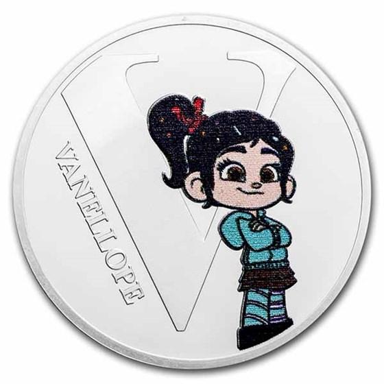 Disney A-Z Collection Alphabet Letter: V is for Vanellope