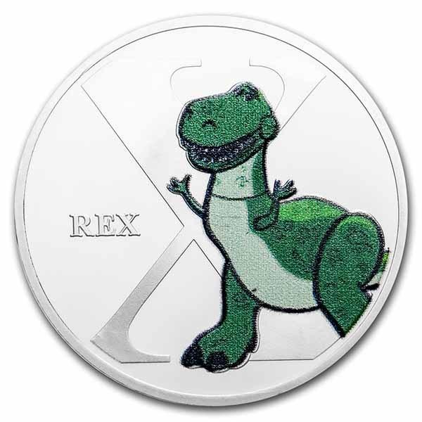 Disney A-Z Collection Alphabet Letter: X is for Rex