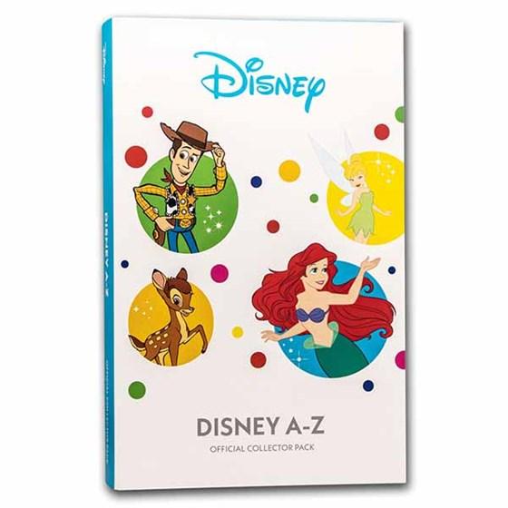 Disney A-Z Collection Complete Alphabet Album Display