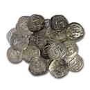 Duchy of Bavaria Salzburg AR Pfennig Adalbert II 1183-1200 AD VF