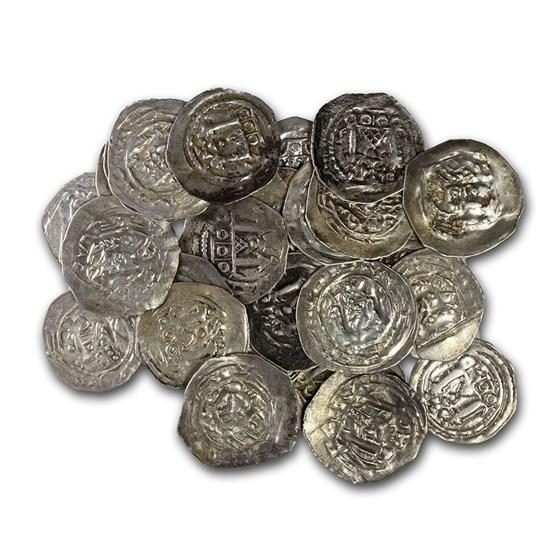 Duchy of Bavaria Salzburg AR Pfennig Adalbert III 1163-1200 AD VF