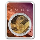 DUNE® Sand Worm 1 oz Silver (Colorized w/TEP)