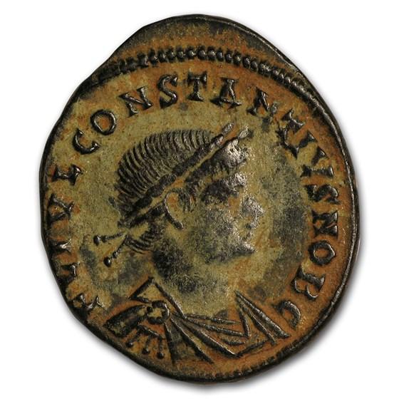 Eastern Roman Empire Bronze As Emperor Constantius II(337-361 AD)