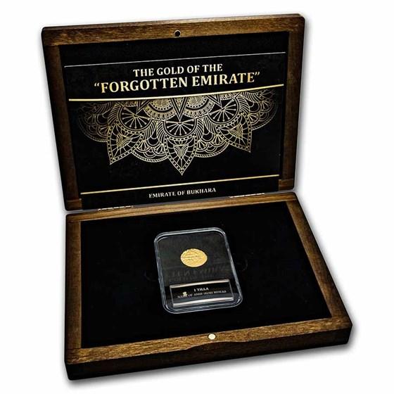 Emirate of Bukhara Gold Tilla Presentation Set