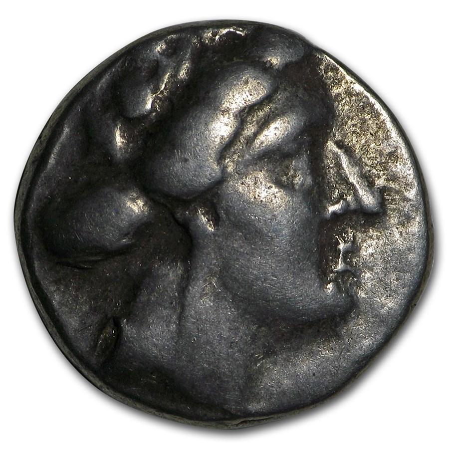 Euboea Histiaea AR Tetrobol (circa 3rd-2nd Century BC) XF