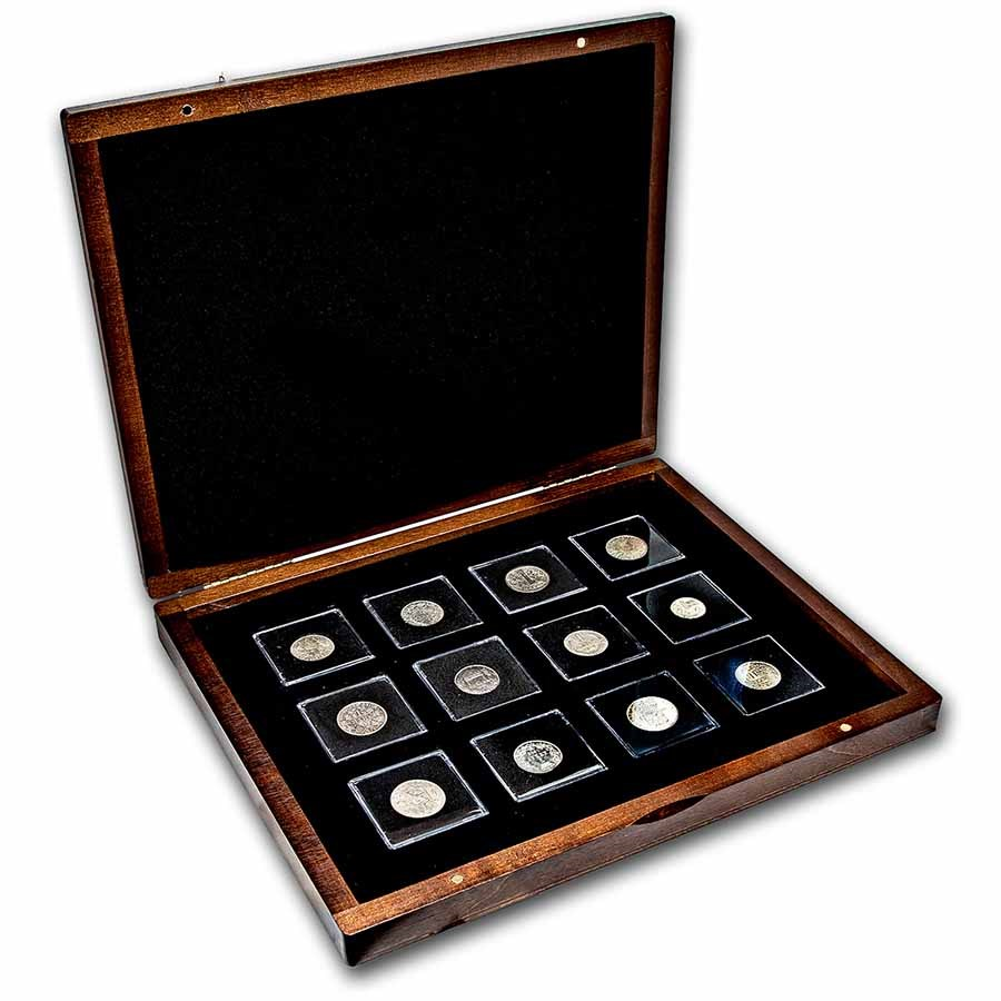 European Nations Currency Units Silver 12-Coin Set