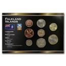 Falkland Islands 1 Pence - 2 Pounds 8-Coin Set BU