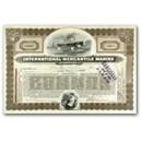 Famous Titanic Stock International Mercantile Marine Company