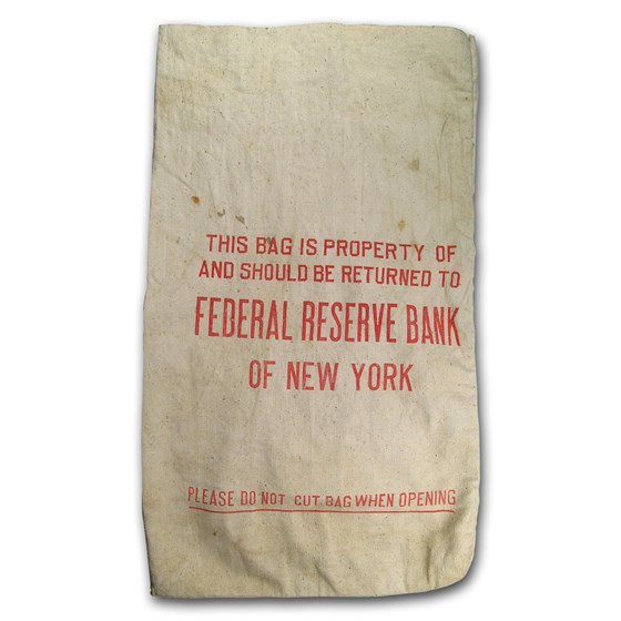 Federal Reserve Bank of New York Canvas Bag (USED)
