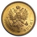 Finland Gold 20 Markkaa (1878-1891) AU-BU