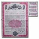Ford International Capital Corporation Bond Certificate