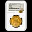 France Gold AV Ecu d'or Charles VI (1380-1422 AD) MS-62 NGC
