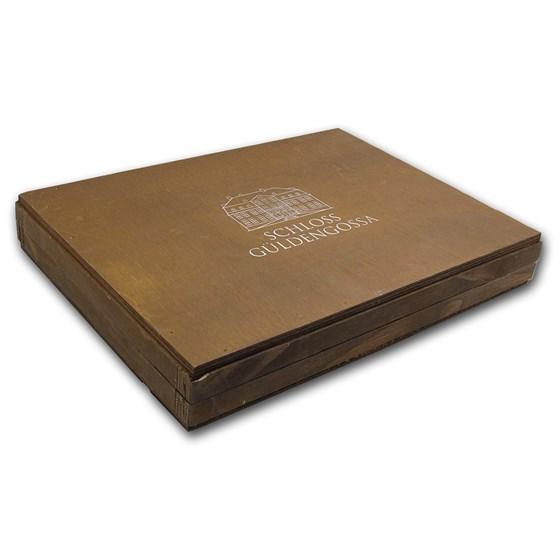 Geiger Edelmetalle Wood Storage Box for 250 gram Silver Bars