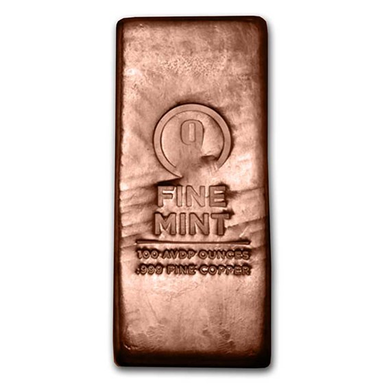 Generic Copper (100 oz Increments)