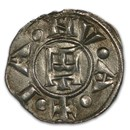 Genoa Italian States Silver Denaro (12th Century)