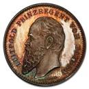 German States Bavaria Silver Medal (1872-1897) SP-66 PCGS