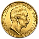 Germany Gold 20 Marks Prussia (1871-1913) BU