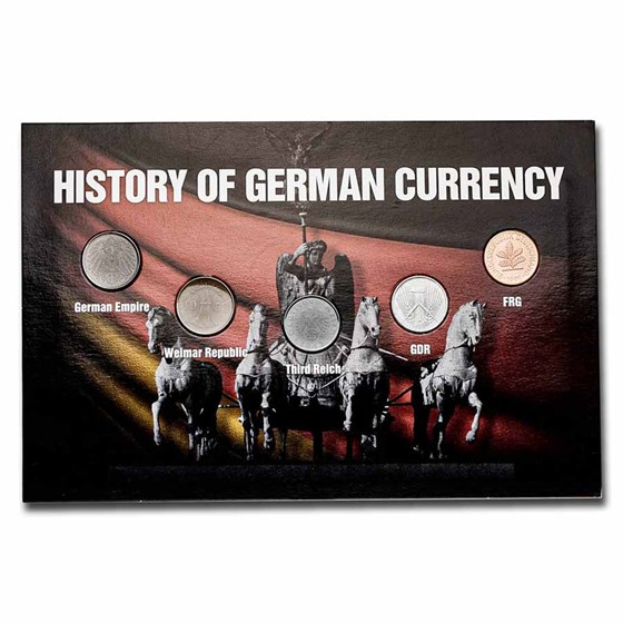 Germany History of the Pfennig 5-Coin Set
