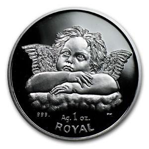 Gibraltar 1 oz Silver Royal Proof (Cherubs)