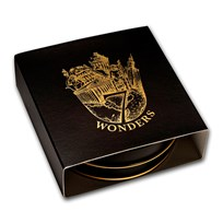 Gift Box Tin - 1 oz Silver Round: 7 Wonders of the Ancient World