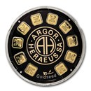 Goldseed 10x 1g Gold Bar - Argor-Heraeus (In Assay)