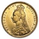 Great Britain Gold Sovereign Victoria Jubilee (1887-1892) AU