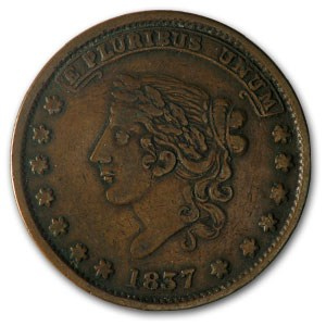Hard Times Token Not One Cent VF HT-58