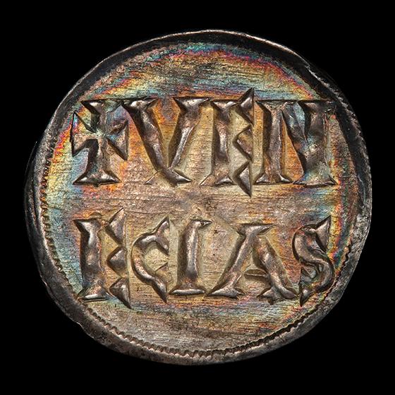 Holy Roman Empire Venice AR Denier (819-822 AD) MS-65 PCGS