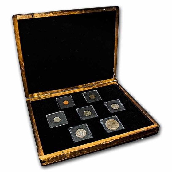 Hungary Emperor Franz Joseph 7-Coin Presentation Set
