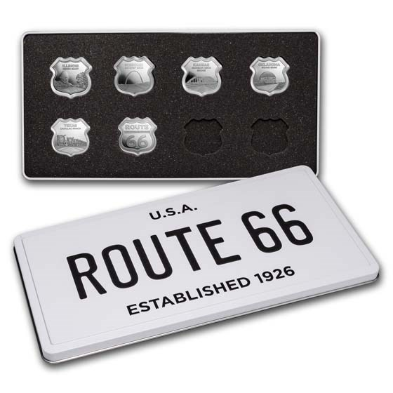 Icons of Route 66 Collection w/Gift Box Tin