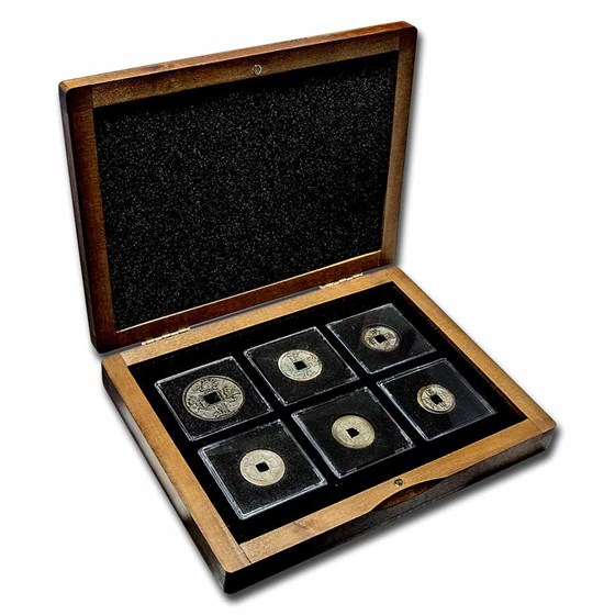 Imperial China: 6 Coin Presentation Set