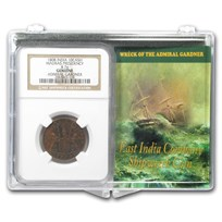 India 1808 10 Cash Wreck of the Admiral Gardner Set Medium Grade